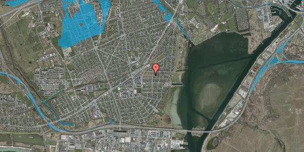Oversvømmelsesrisiko fra vandløb på Bavnevej 10, 1. th, 2650 Hvidovre