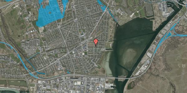 Oversvømmelsesrisiko fra vandløb på Bavnevej 20, 1. tv, 2650 Hvidovre