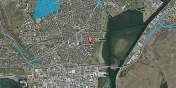 Oversvømmelsesrisiko fra vandløb på Bavnevej 23, 2650 Hvidovre