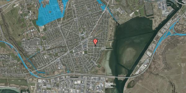 Oversvømmelsesrisiko fra vandløb på Bavnevej 24, 2650 Hvidovre