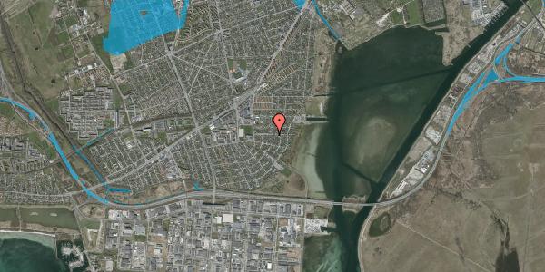 Oversvømmelsesrisiko fra vandløb på Bavnevej 25, 2650 Hvidovre
