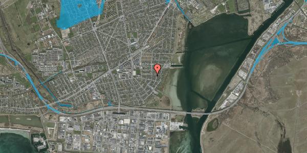 Oversvømmelsesrisiko fra vandløb på Bavnevej 27A, 2650 Hvidovre