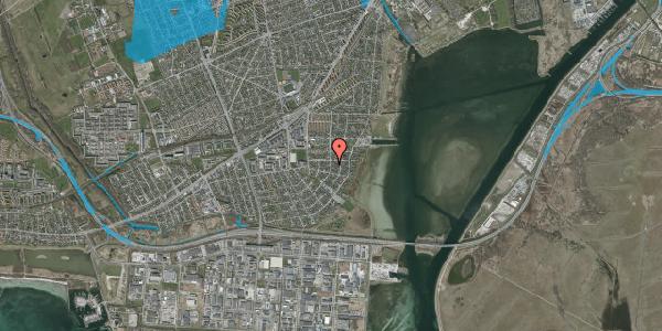 Oversvømmelsesrisiko fra vandløb på Bavnevej 27B, 2650 Hvidovre