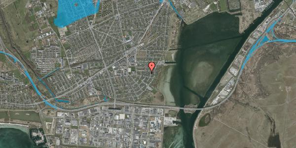 Oversvømmelsesrisiko fra vandløb på Bavnevej 29A, 2650 Hvidovre