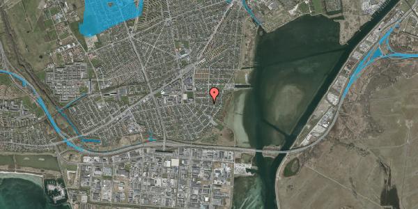 Oversvømmelsesrisiko fra vandløb på Bavnevej 33, 2650 Hvidovre