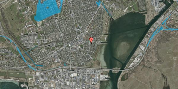 Oversvømmelsesrisiko fra vandløb på Bavnevej 34, 2650 Hvidovre