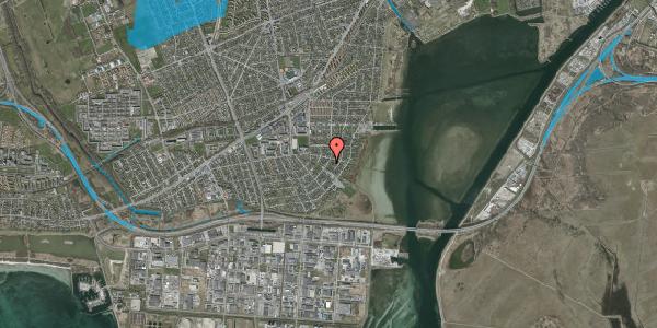 Oversvømmelsesrisiko fra vandløb på Bavnevej 41, 2650 Hvidovre
