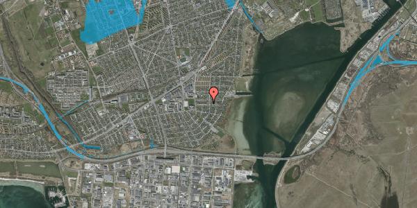 Oversvømmelsesrisiko fra vandløb på Bavnevej 42, 2650 Hvidovre
