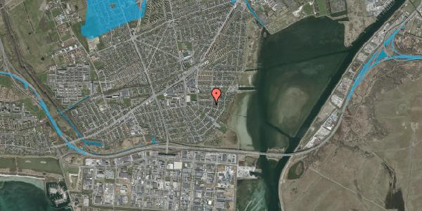 Oversvømmelsesrisiko fra vandløb på Bavnevej 50, 2650 Hvidovre