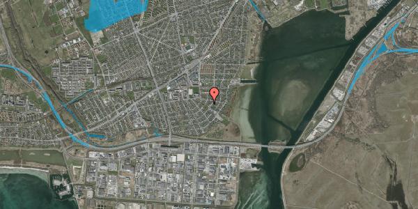 Oversvømmelsesrisiko fra vandløb på Bavnevej 60, 2650 Hvidovre