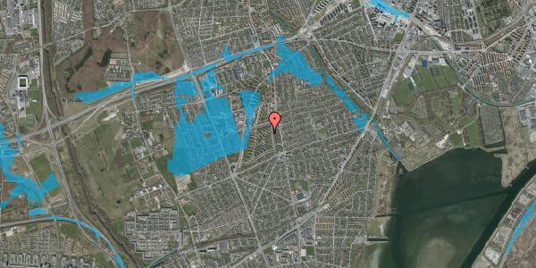 Oversvømmelsesrisiko fra vandløb på Berners Vænge 7, 1. th, 2650 Hvidovre