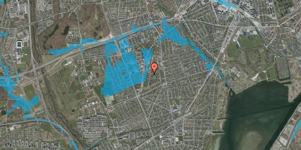 Oversvømmelsesrisiko fra vandløb på Berners Vænge 21, 1. th, 2650 Hvidovre