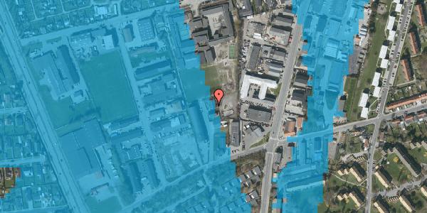 Oversvømmelsesrisiko fra vandløb på Bibliotekvej 60D, 2650 Hvidovre