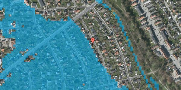 Oversvømmelsesrisiko fra vandløb på Birke Alle 12, 2650 Hvidovre