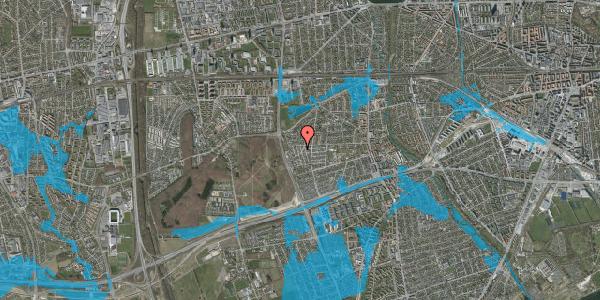 Oversvømmelsesrisiko fra vandløb på Bliskær 8, 2650 Hvidovre