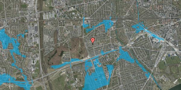 Oversvømmelsesrisiko fra vandløb på Bliskær 26, 2650 Hvidovre