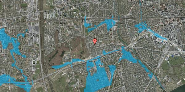Oversvømmelsesrisiko fra vandløb på Bliskær 32, 2650 Hvidovre
