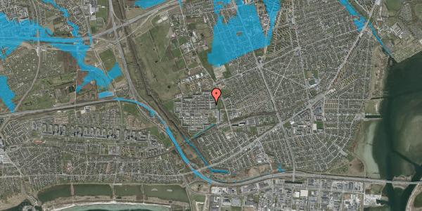 Oversvømmelsesrisiko fra vandløb på Blytækkerporten 2, 2650 Hvidovre