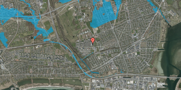 Oversvømmelsesrisiko fra vandløb på Blytækkerporten 3B, 2650 Hvidovre