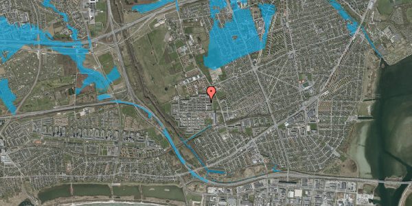 Oversvømmelsesrisiko fra vandløb på Blytækkerporten 4, 2650 Hvidovre