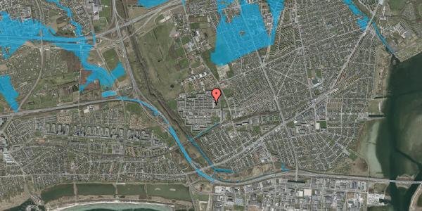 Oversvømmelsesrisiko fra vandløb på Blytækkerporten 7, 2650 Hvidovre