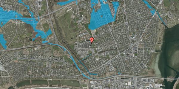 Oversvømmelsesrisiko fra vandløb på Blytækkerporten 8, 2650 Hvidovre