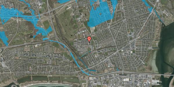 Oversvømmelsesrisiko fra vandløb på Blytækkerporten 23, 2650 Hvidovre