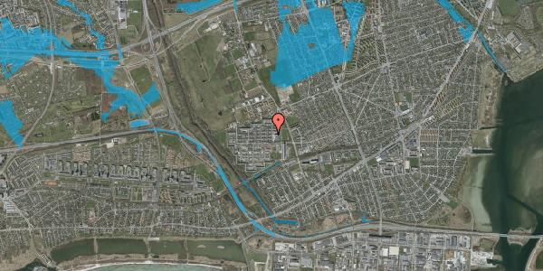 Oversvømmelsesrisiko fra vandløb på Blytækkerporten 31A, 2650 Hvidovre