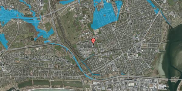 Oversvømmelsesrisiko fra vandløb på Blytækkerporten 37, 2650 Hvidovre