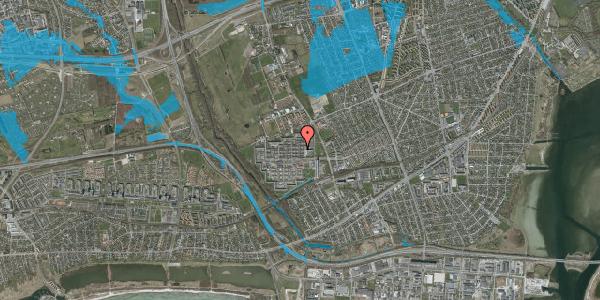 Oversvømmelsesrisiko fra vandløb på Blytækkerporten 43B, 2650 Hvidovre