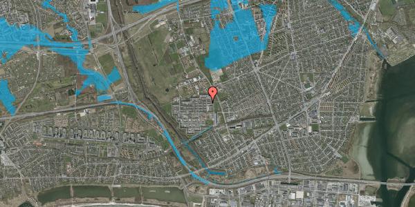 Oversvømmelsesrisiko fra vandløb på Blytækkerporten 46, 2650 Hvidovre
