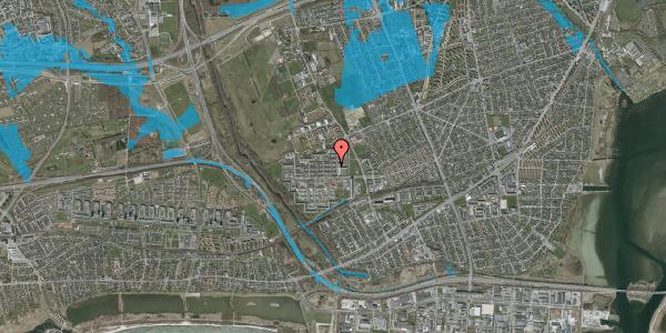 Oversvømmelsesrisiko fra vandløb på Blytækkerporten 53, 2650 Hvidovre
