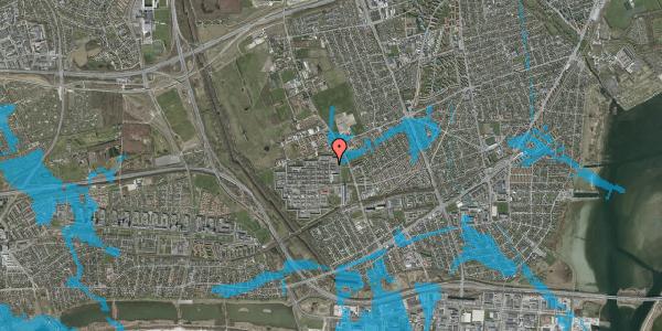 Oversvømmelsesrisiko fra vandløb på Blytækkerporten 72, 2650 Hvidovre