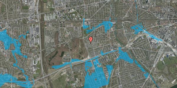 Oversvømmelsesrisiko fra vandløb på Skelkær 15, 2650 Hvidovre