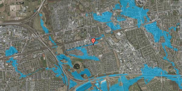 Oversvømmelsesrisiko fra vandløb på Albertslundvej 51, st. tv, 2625 Vallensbæk