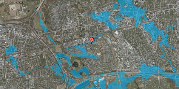Oversvømmelsesrisiko fra vandløb på Albertslundvej 53, st. mf, 2625 Vallensbæk