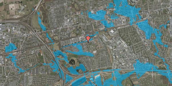 Oversvømmelsesrisiko fra vandløb på Albertslundvej 55, 1. tv, 2625 Vallensbæk