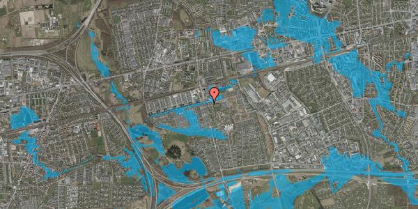 Oversvømmelsesrisiko fra vandløb på Albertslundvej 59, st. tv, 2625 Vallensbæk