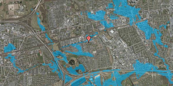 Oversvømmelsesrisiko fra vandløb på Albertslundvej 61, st. mf, 2625 Vallensbæk