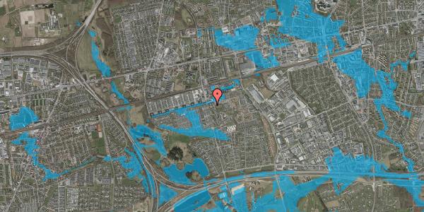 Oversvømmelsesrisiko fra vandløb på Albertslundvej 61, st. th, 2625 Vallensbæk