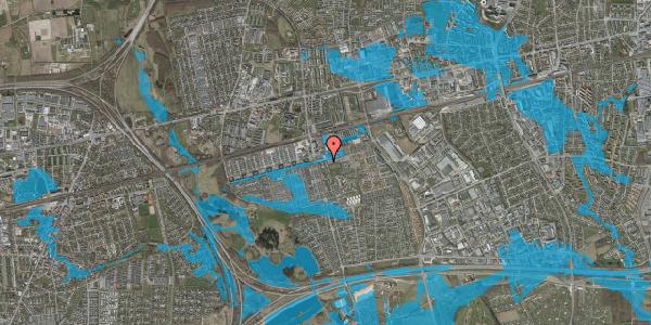 Oversvømmelsesrisiko fra vandløb på Albertslundvej 63, 2. mf, 2625 Vallensbæk