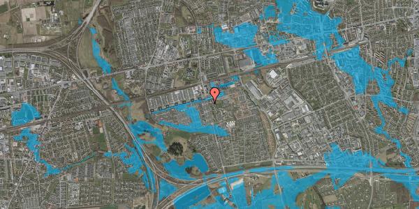Oversvømmelsesrisiko fra vandløb på Albertslundvej 69, 2. mf, 2625 Vallensbæk