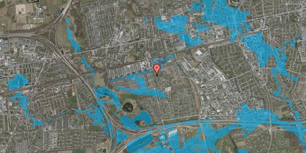 Oversvømmelsesrisiko fra vandløb på Albertslundvej 73, 2. th, 2625 Vallensbæk