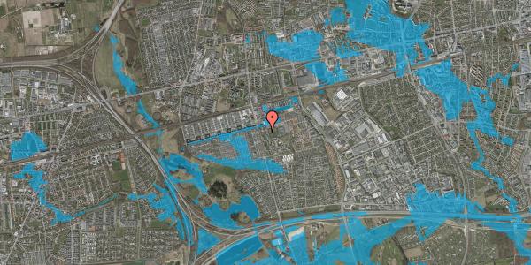 Oversvømmelsesrisiko fra vandløb på Albertslundvej 75, 1. mf, 2625 Vallensbæk