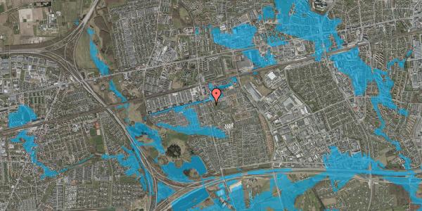 Oversvømmelsesrisiko fra vandløb på Albertslundvej 75, 1. th, 2625 Vallensbæk