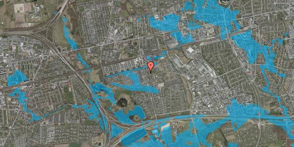 Oversvømmelsesrisiko fra vandløb på Albertslundvej 81, 1. th, 2625 Vallensbæk