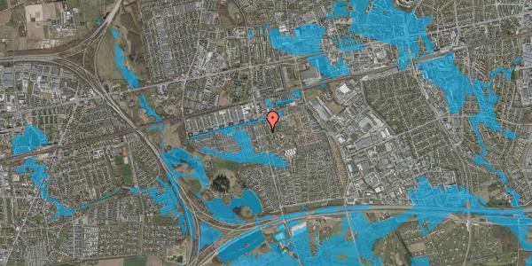 Oversvømmelsesrisiko fra vandløb på Albertslundvej 83, st. th, 2625 Vallensbæk