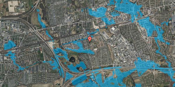 Oversvømmelsesrisiko fra vandløb på Albertslundvej 85, st. tv, 2625 Vallensbæk