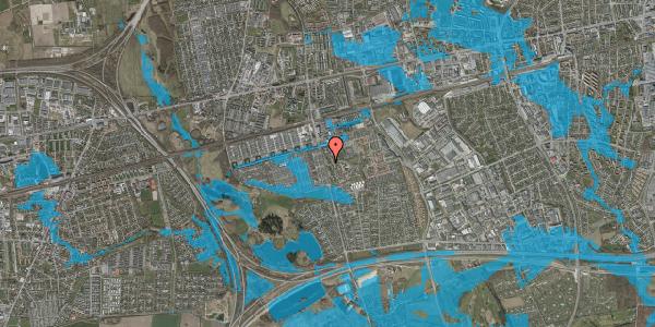 Oversvømmelsesrisiko fra vandløb på Albertslundvej 85, 2. th, 2625 Vallensbæk