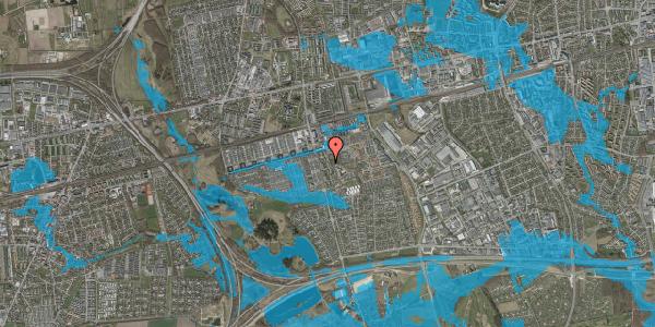 Oversvømmelsesrisiko fra vandløb på Albertslundvej 87, st. tv, 2625 Vallensbæk
